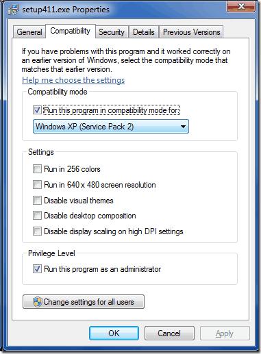 ACNE-install-compatibility