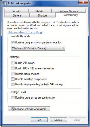 Installing ACNE on Windows 7