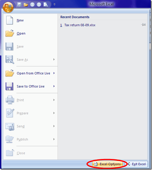 Excel-2007-options-menu